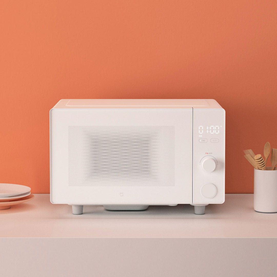 Xiaomi Mijia Smart Microwave APP Control 20L Capacity Rapid Heating Stove Microwave Oven - White