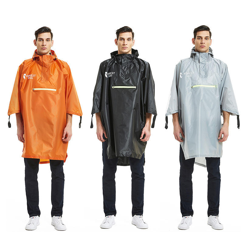 Naturehike 230T Poly Taff Raincoat Poncho luminoso Impermeabile Rain Coat TORCIA campeggio Escursionismo
