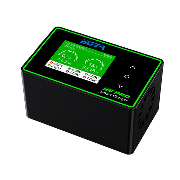 HOTA H6 Pro DUO AC 200W DC 700W 26A Battery Balance Charger for 1-6S Lipo Battery