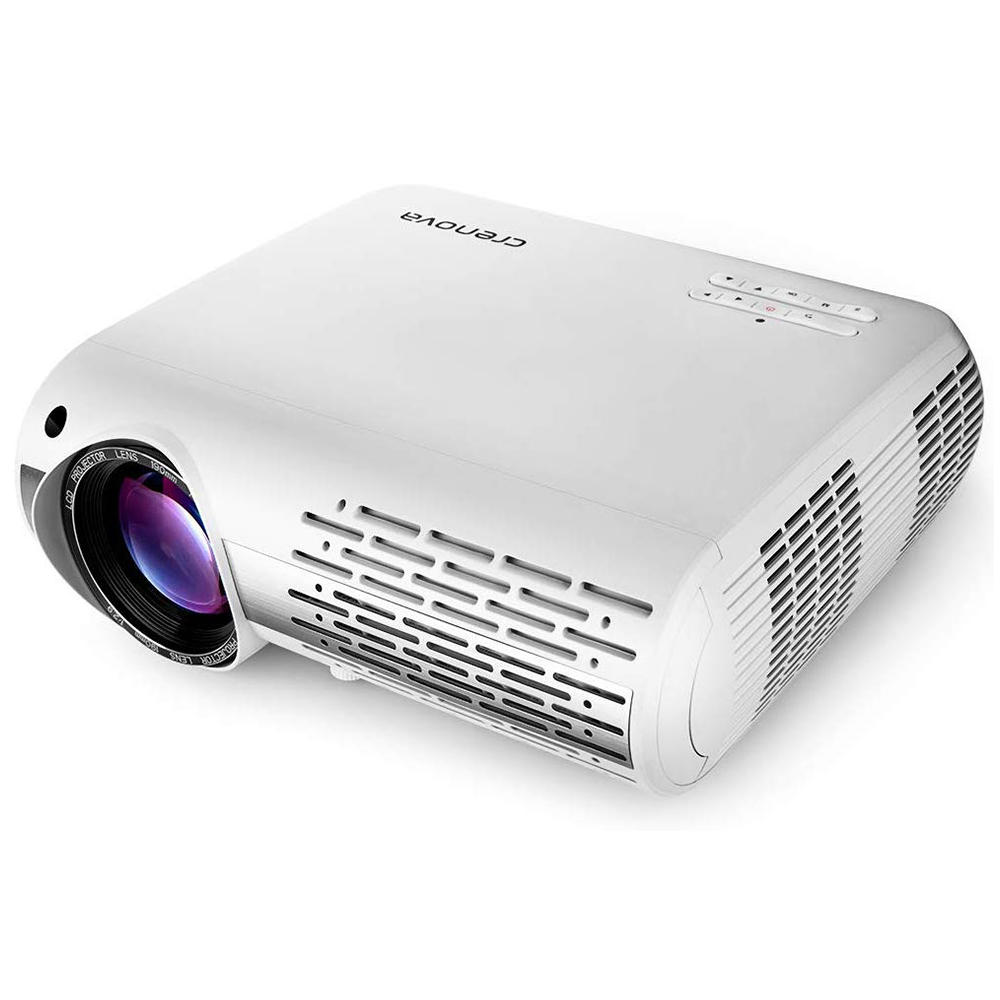 Crenova XPE660 LCD Projector 6500 Lumens 1920*1080 1080P 4K LED Video Projector Home Theater Cinema Basic Version фото