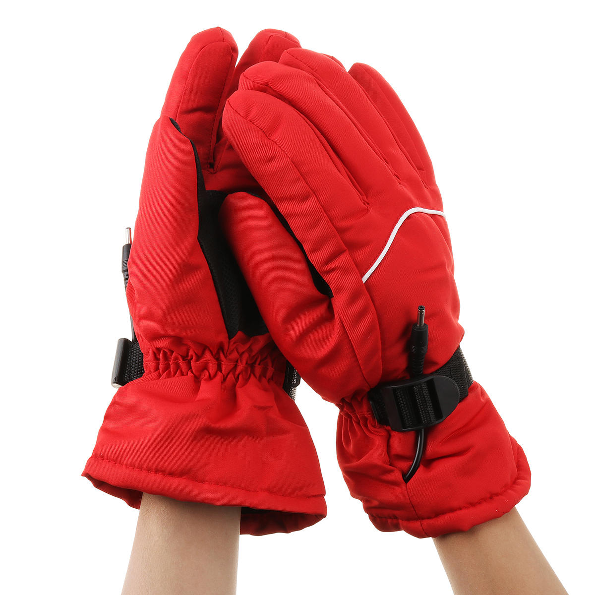 36V-96V Motorcycle Electric Heated Gloves Winter Warm Thermal Hand Warmer Tricylce Scooter Outdoor