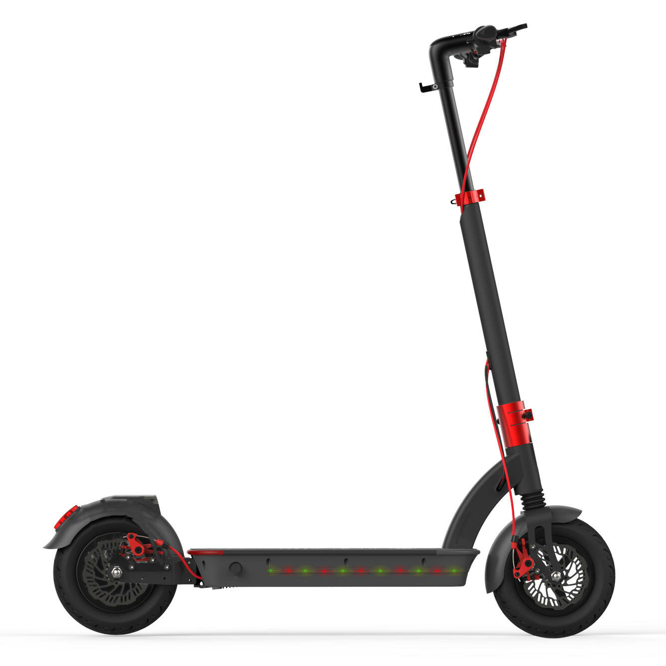 Aerlang H6 48V 500W 17 5A Folding Electric Scooter 10inch 40km/h Top Speed  50-60km Mileage Range Max  Load 120kg Two Wheels Electric Scooter