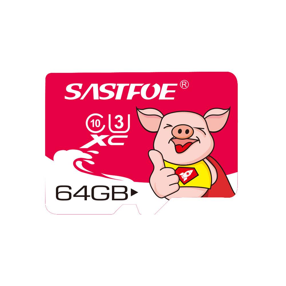 SASTFOE Ano do porco Edição limitada U3 64GB Cartão de memória TF
