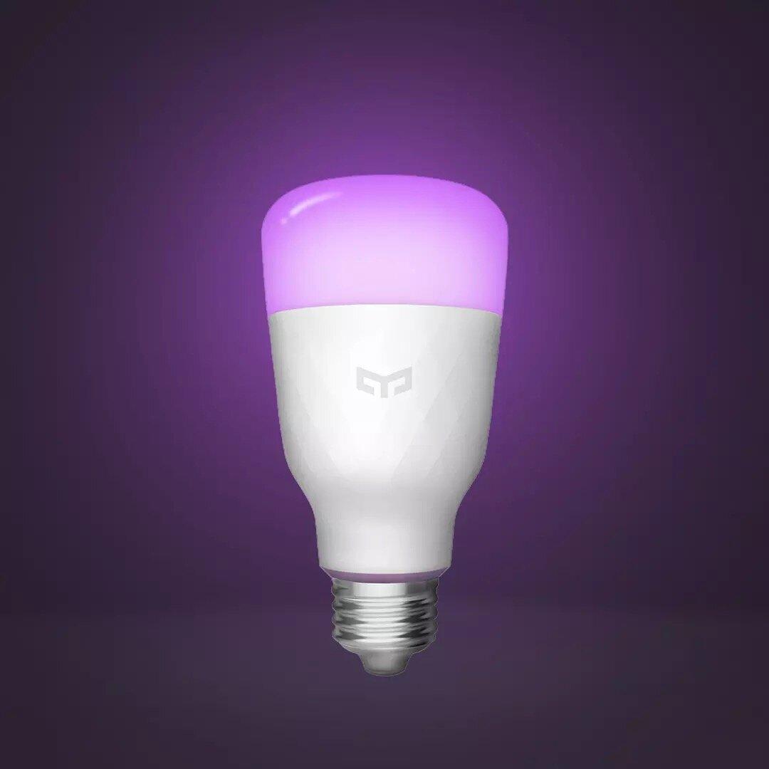 Opdateret version Yeelight 1S YLDP13YL 8.5W RBGW Smart LED-pære arbejde med homekit (Xiaomi Ecosystem-produkt) Kode: BGYEELBU1S € 13.2
