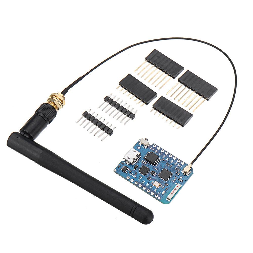 Geekcreit® D1 मिनी Pro-16 मॉड्यूल + ESP8266 श्रृंखला वाईफ़ाई वायरलेस एंटीना