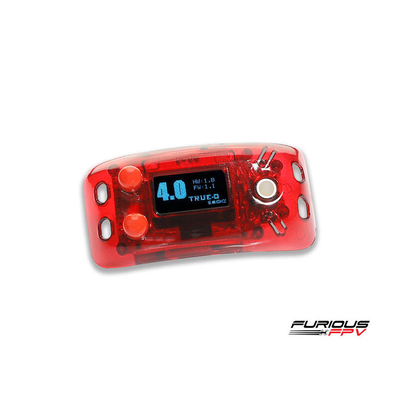 Furious Furiousfpv True-D V4.0 5.8Ghz 48CH Diversity FPV Receiver System Clarity Redefined for Fatshark Dominator Goggles