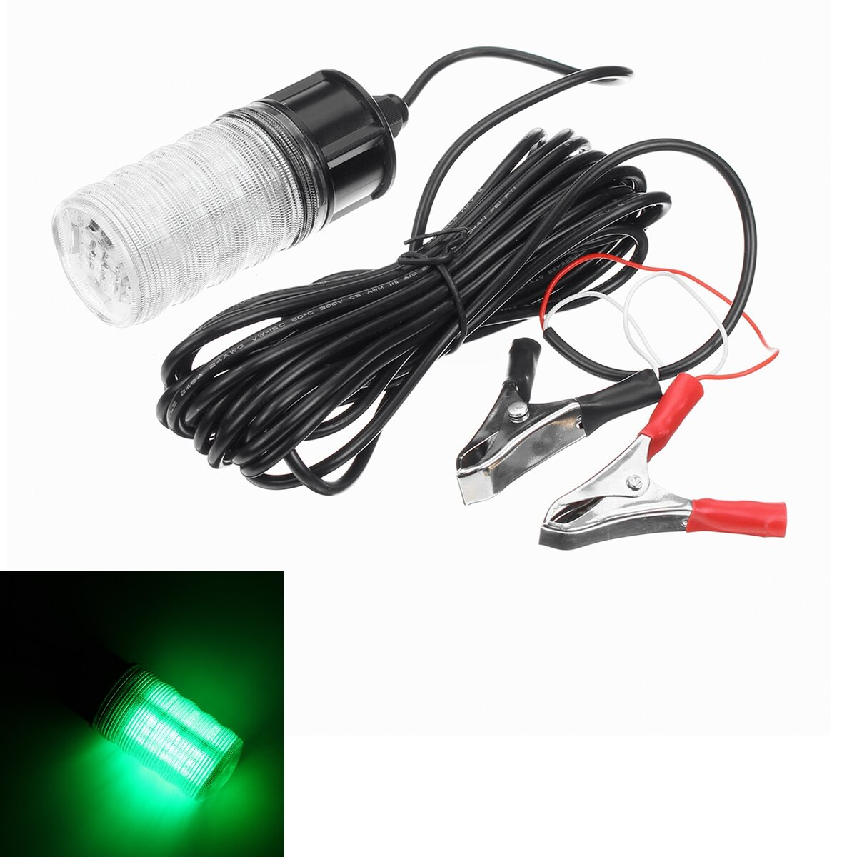12V LED Noche sumergible bajo el