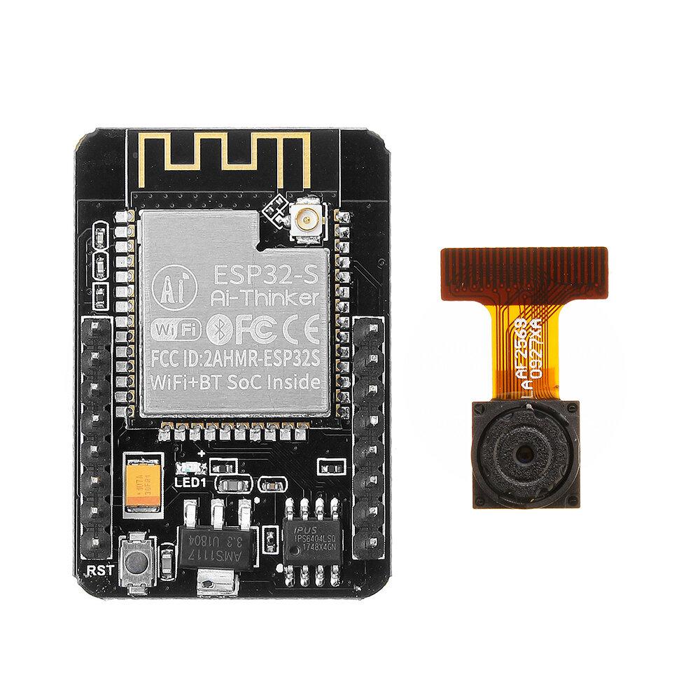 Geekcreit® ESP32-CAM WiFi + Bảng phát triển mô-đun máy ảnh bluetooth ESP32 Với mô-đun máy ảnh OV2640