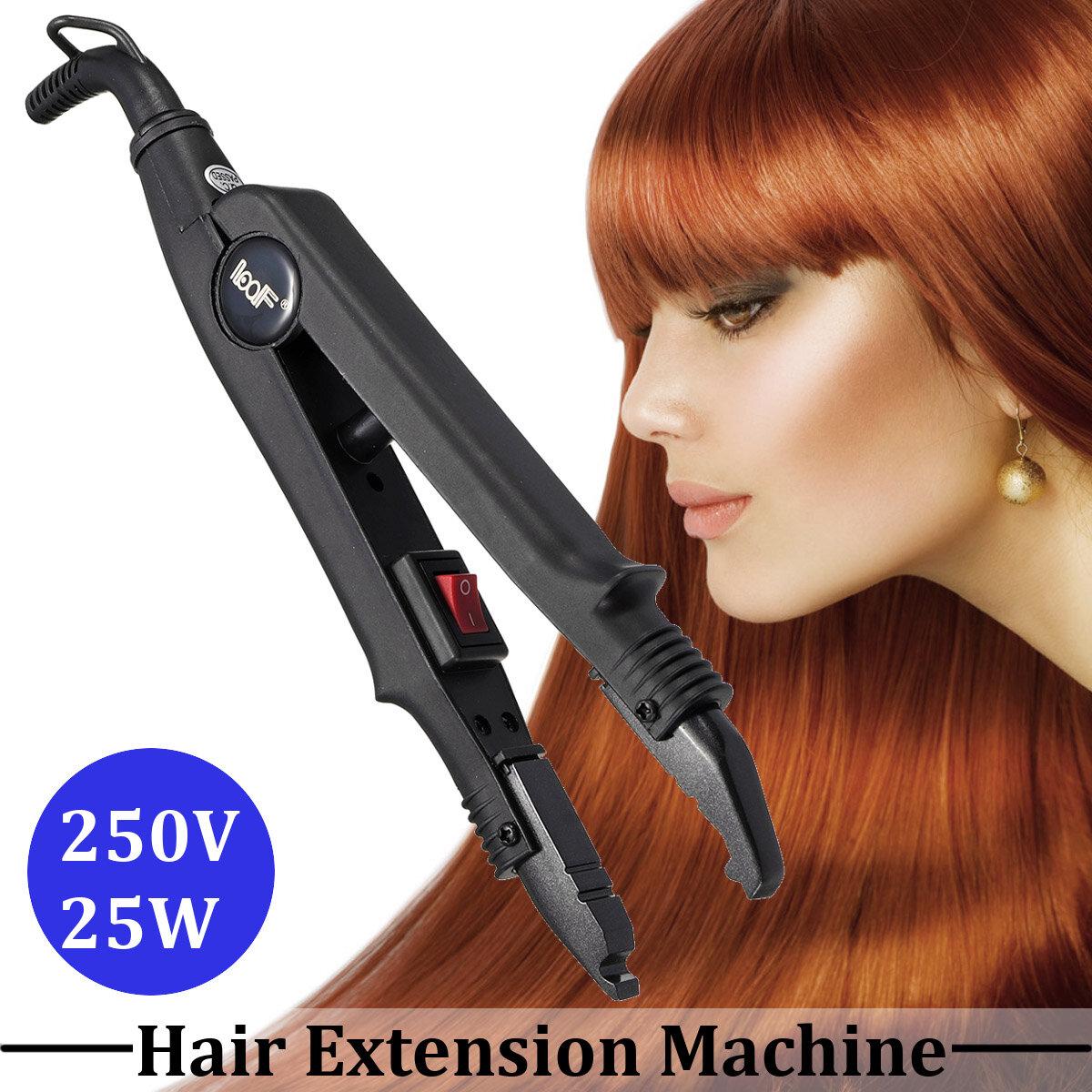 Estensione piastra per capelli Fusione di ferro Keratin Bonding Strumenti Calore Connettore