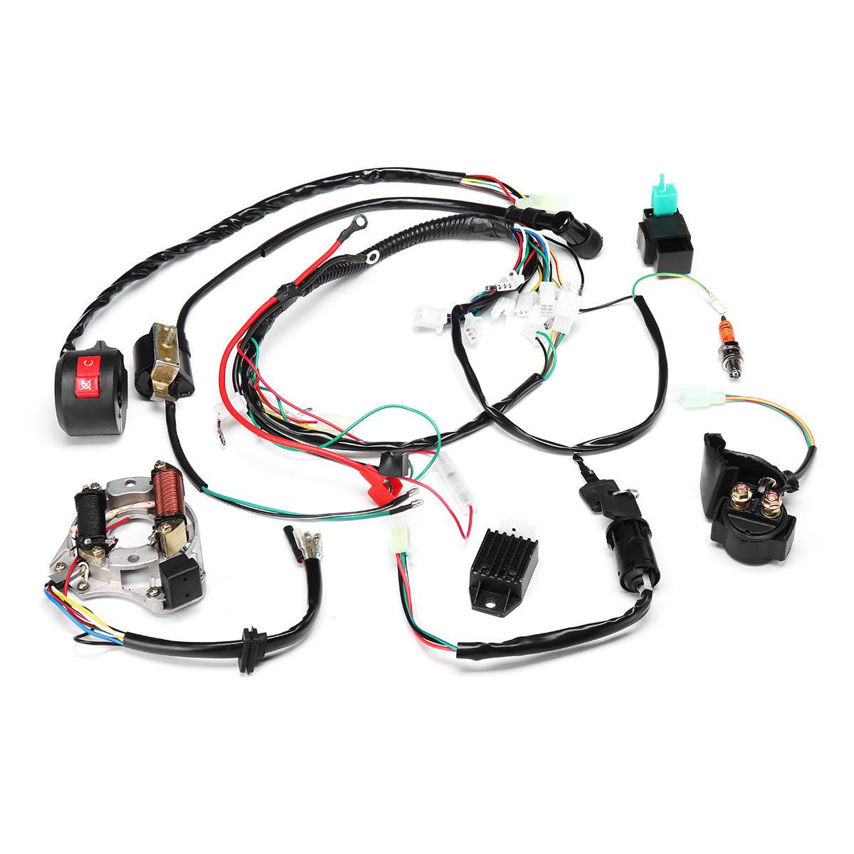 50cc 70cc 90cc 110cc 125cc Atv Ignition Coil Electric Wiring Diagram