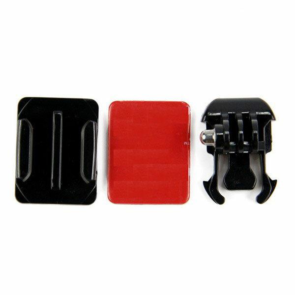 Mount Helmet Curved Sticker Buckle Basic Mount for Gopro Hero 8 7 6 5 4 3 3 Plus 2 1 SJcam Xiaomi Yi Action Camera
