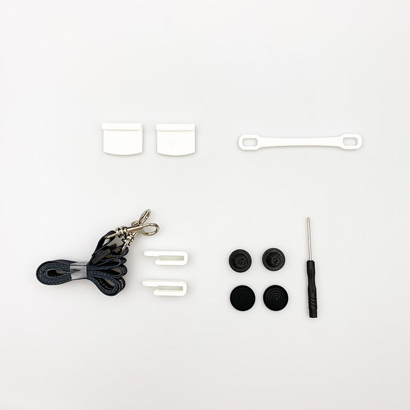 Battery Dust Cover Remote Control Lanyard Non-slip Thumb Rocker Antenna Holder Spare Parts Pack Set for Hubsan ZINO H117S RC Drone Quadcopter