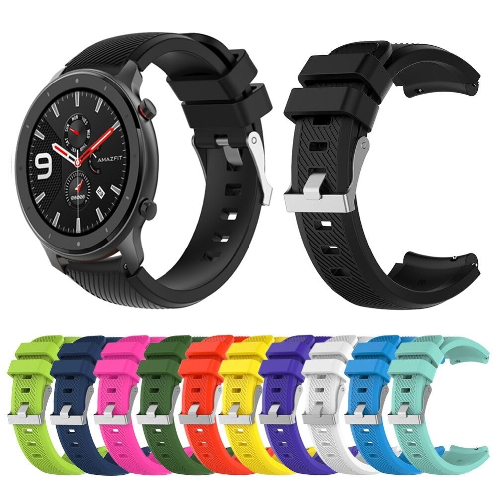 Inclined Grain Watch Band Watch Strap Replacement for 47mm Amazfit GTR Smart Watch