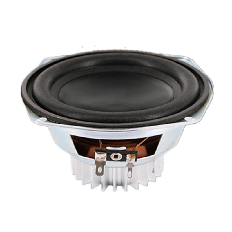 LEORY 5 Inch 30W 6 Ohm Magnetic Speakers Super Bass Subwoofer Neodymium Car Speaker Horn