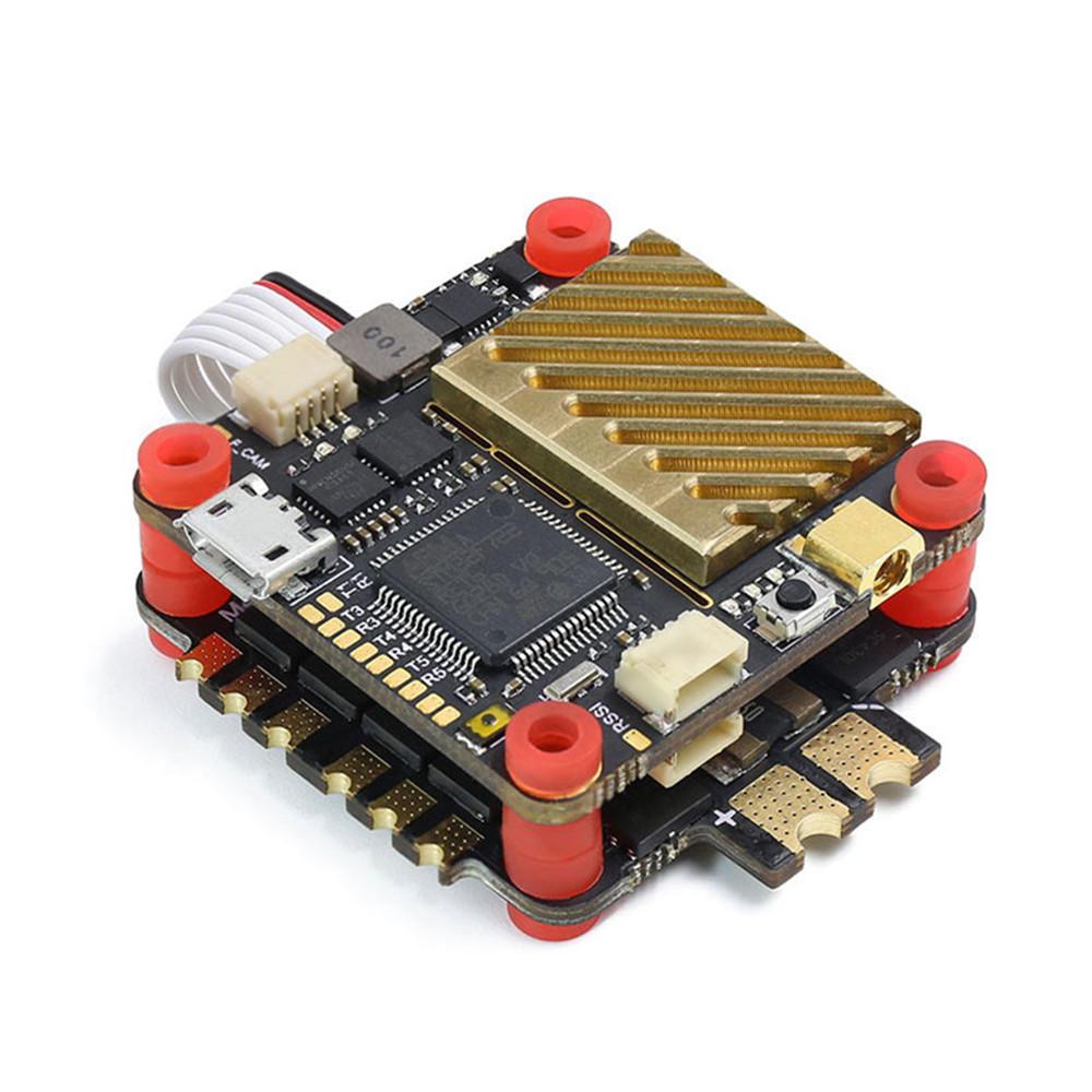 Geprc GEP-SPAN-F722-VTX Dual Gyro F7 Flight Controller AIO 600mW VTX & 50A BL_32 4in1 ESC Stack for RC Drone