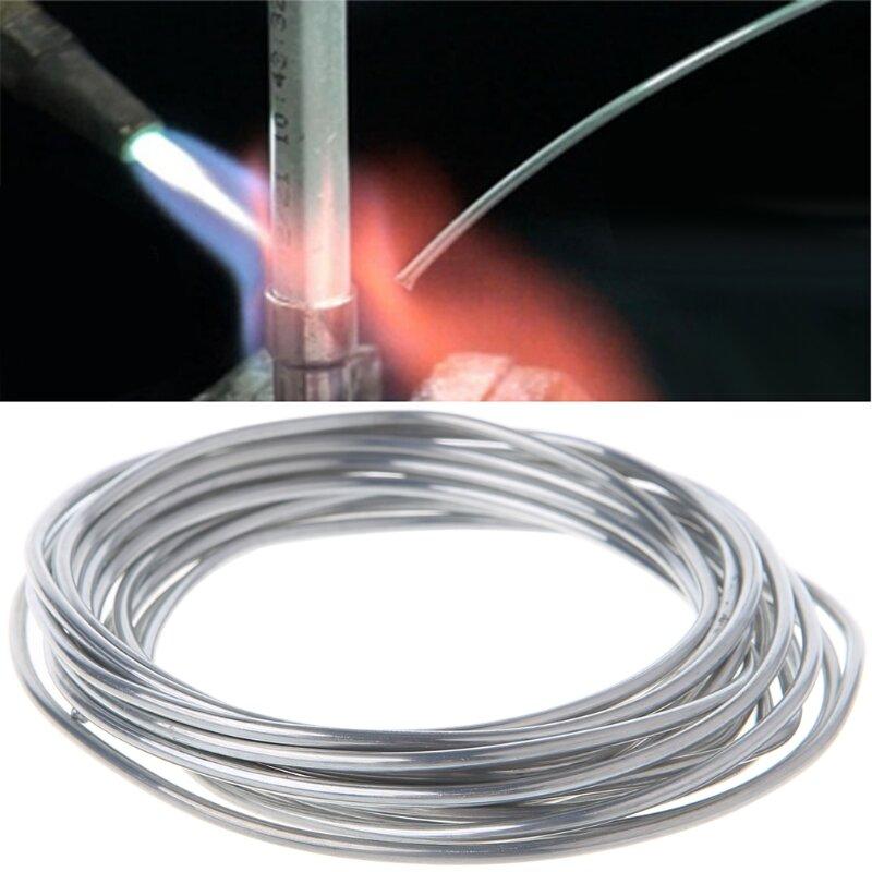2.00mm 3m Copper Aluminum Weld Flux Cored Wire Low Temperature Aluminium Welding Rods