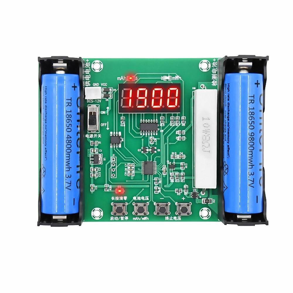Arduino XH-M240 Батарея Тестер емкости мАч мВтч для лития 18650 Батарея Цифровое измерение лития Батарея Тестер детектора мощнос фото