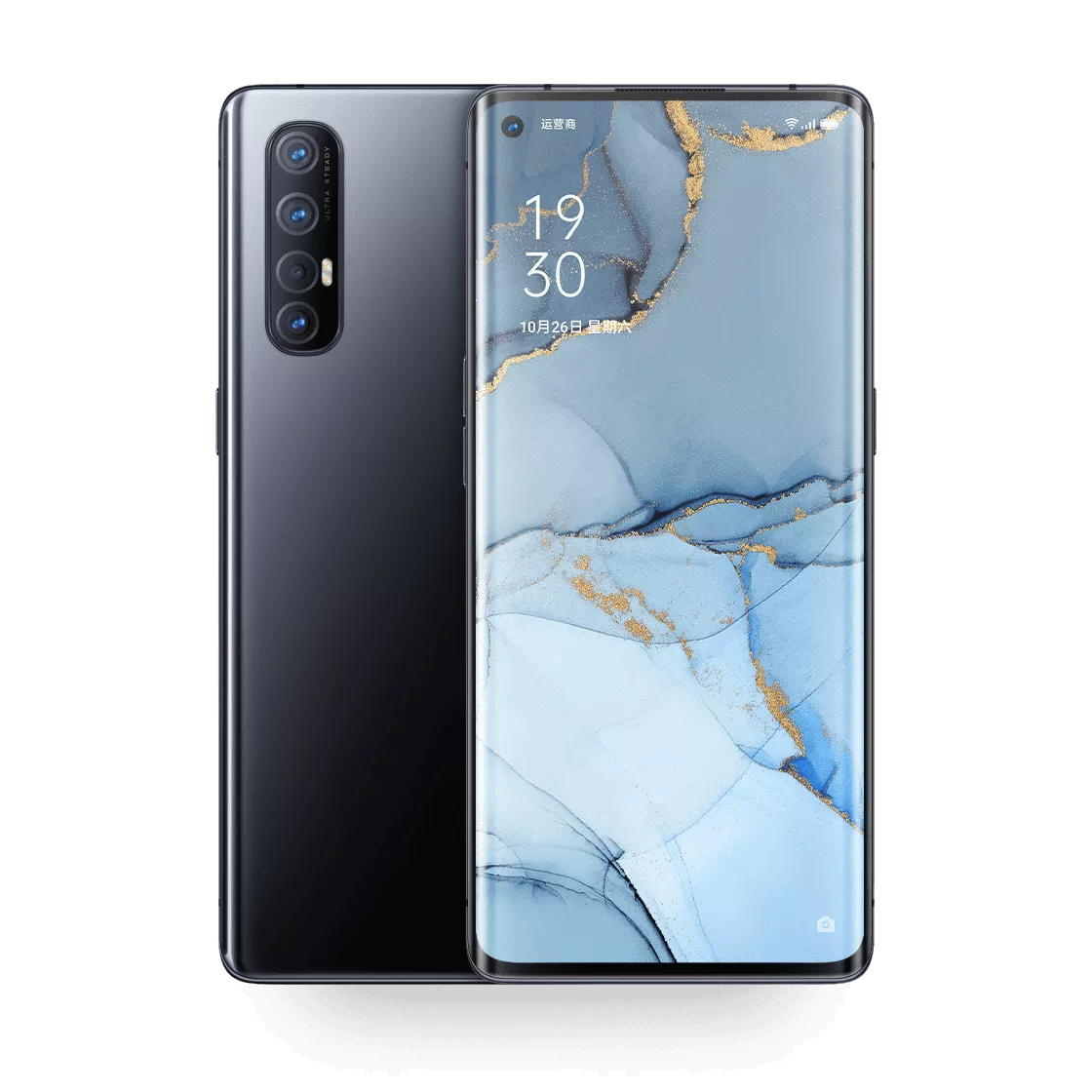 OPPO Reno3 Pro 5G Smartphone CN Version 6.5 inch 90Hz Refresh Rate HDR10+ Frameless NFC Android 10 4025mAh 8GB RAM 128GB ROM Snapdragon 765G Octa Core