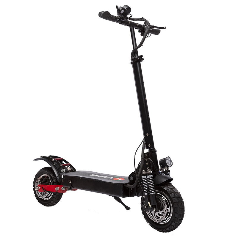 YUME YM_D5 52V 2400W Dual Motor 23.4Ah Folding Electric Scooter 65_70km_h Top Speed 80km Range Mileage 10inch Off_road Pneumatic Tire Max Load 200kg Scooter