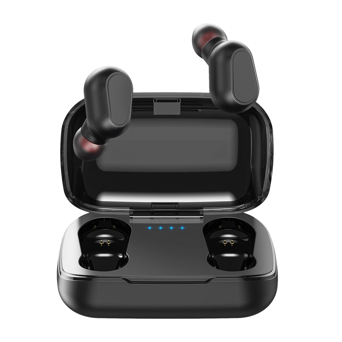 TOPK F22 TWS bluetooth 5.0 True Wireless Earphone LED Display Button Control Sports Headphones With Mic for Xiaomi Huawei