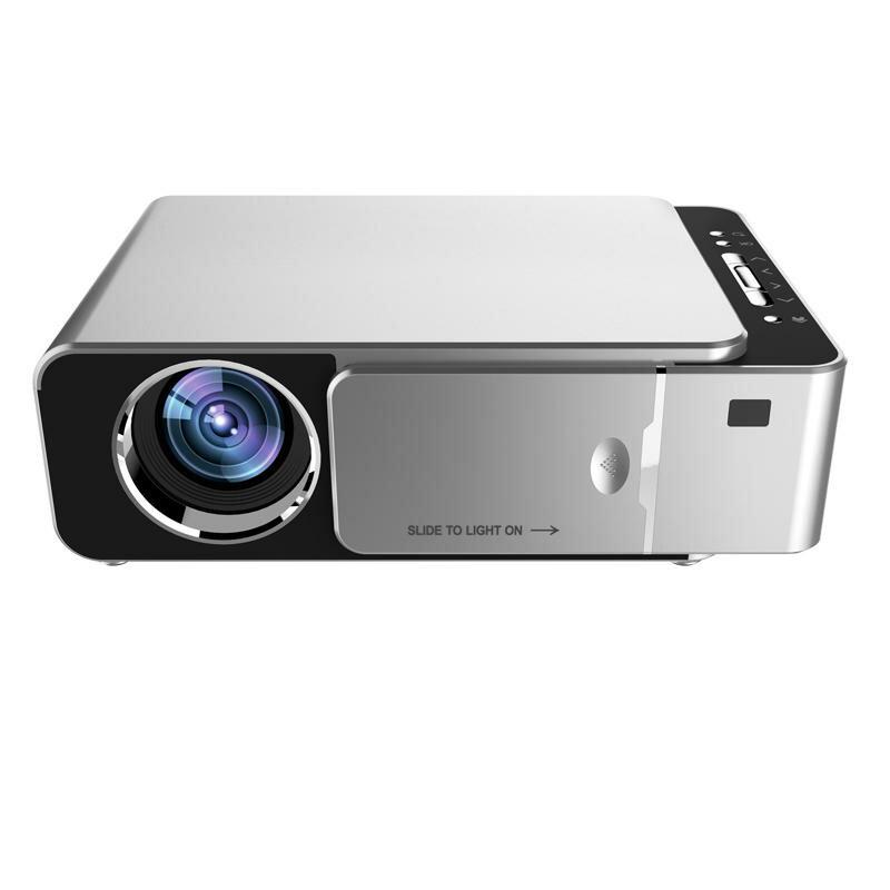 TOPRECIS T6 LCD Projector 1280 x 720P HD 3500 Lumens Mini LED 3D Projector Home Theater Beamer bluetooth WIFI USB HD VGA Same Screen Version