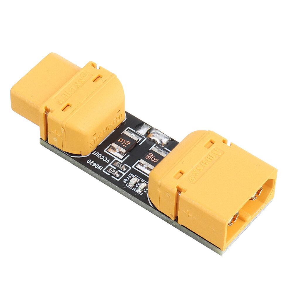 Nút chặn khói YRRC 1-6S 33V Amass XT60 Kết nối đường dây ngắn Vòng kiểm tra vòng tròn cho mô hình RC