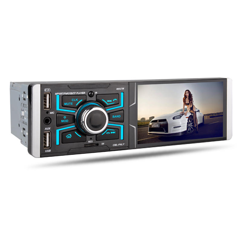 4062TM 4.1 Inch HD Car Stereo Radio MP5 MP4 Player Touch Screen bluetooth FM TF AUX Support Reversing Camera