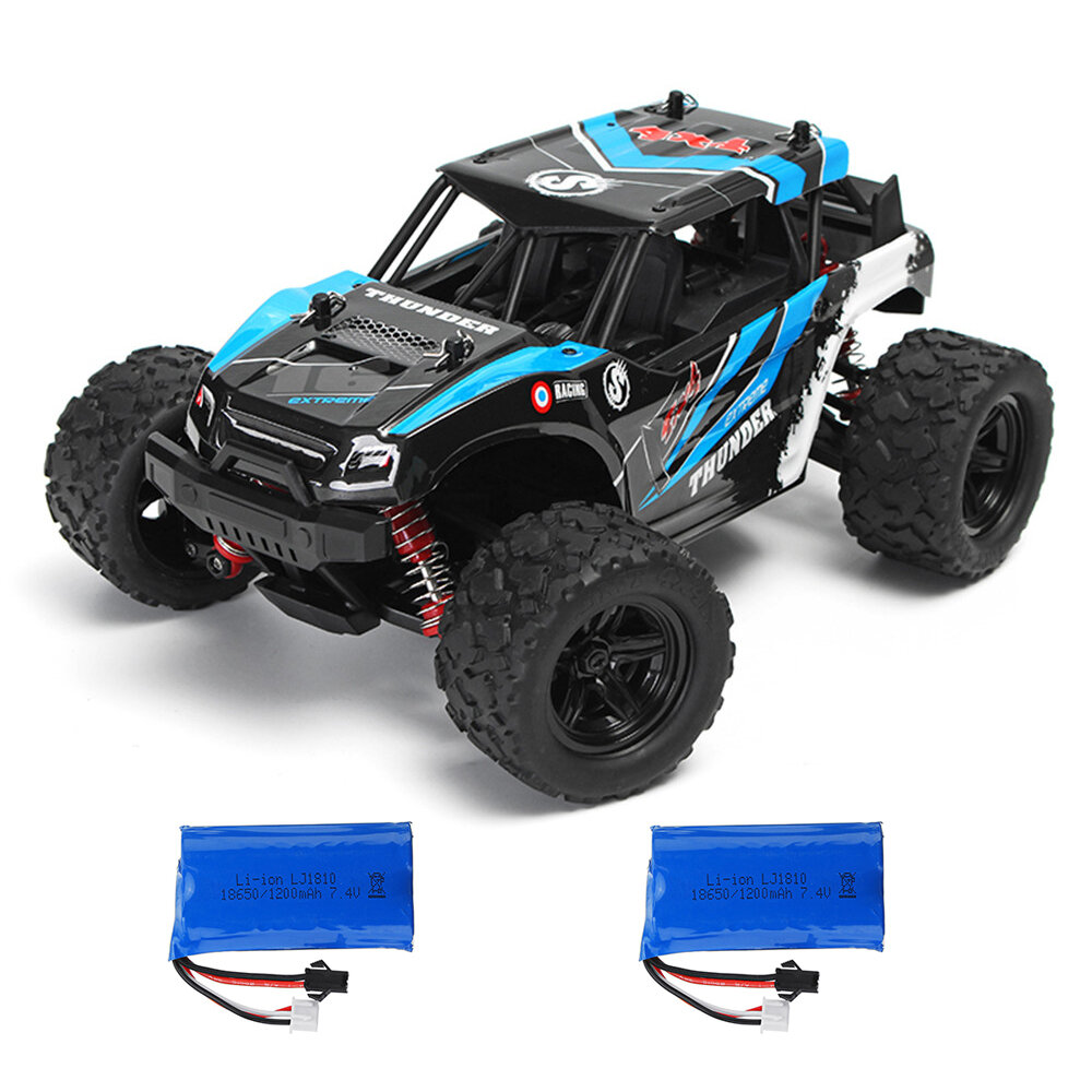 HS 18311/18312 1/18 35km/h 2.4G 4CH 4WD High Speed Climber Crawler RC Car Toys Two Battery