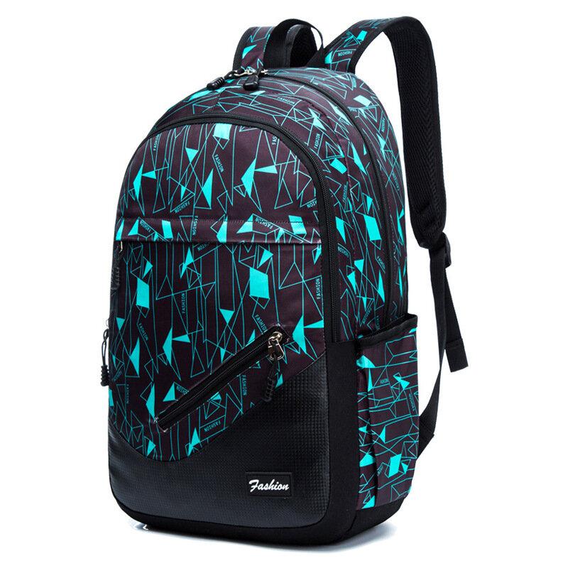 Women Men Large Capacity Fashion Multifunction Sports Outdoor Backpack Laptop Bag