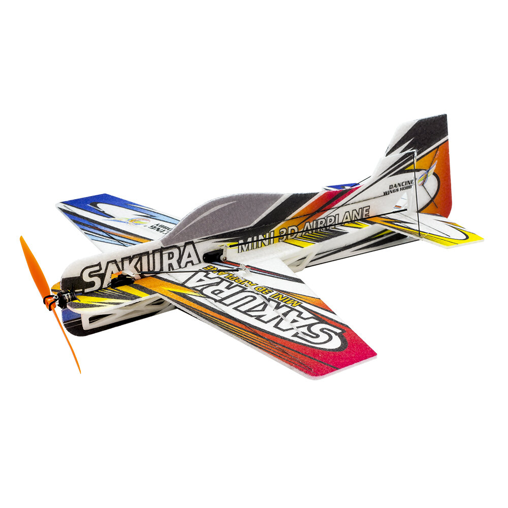 SAKURA E211 MINI 3D Airplane Kit 420mm Wingspan Trainer for Beginner 3D Aerobatic RC Aircraft Stunt Plane