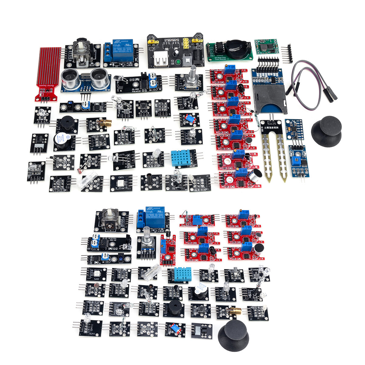 Sensor 37 In 1 Sensor Modul Kit Für Arduino Raspberry Pi MCU Education