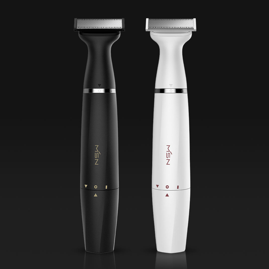 MSN T3 Multi-purpose Electric Hair Shaver Razor From Xiaomi Youpin Waterproof Two-way Blade Dry & Wet Body Leg Armpit Hair Eyebrow Styling Trimmer