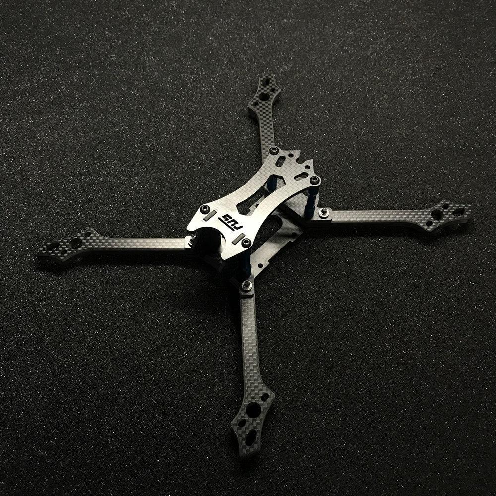 FUS Hydra 218mm Wheelbase 6mm Arm 3K Carbon Fiber 5 Inch Frame Kit for RC Drone FPV Racing