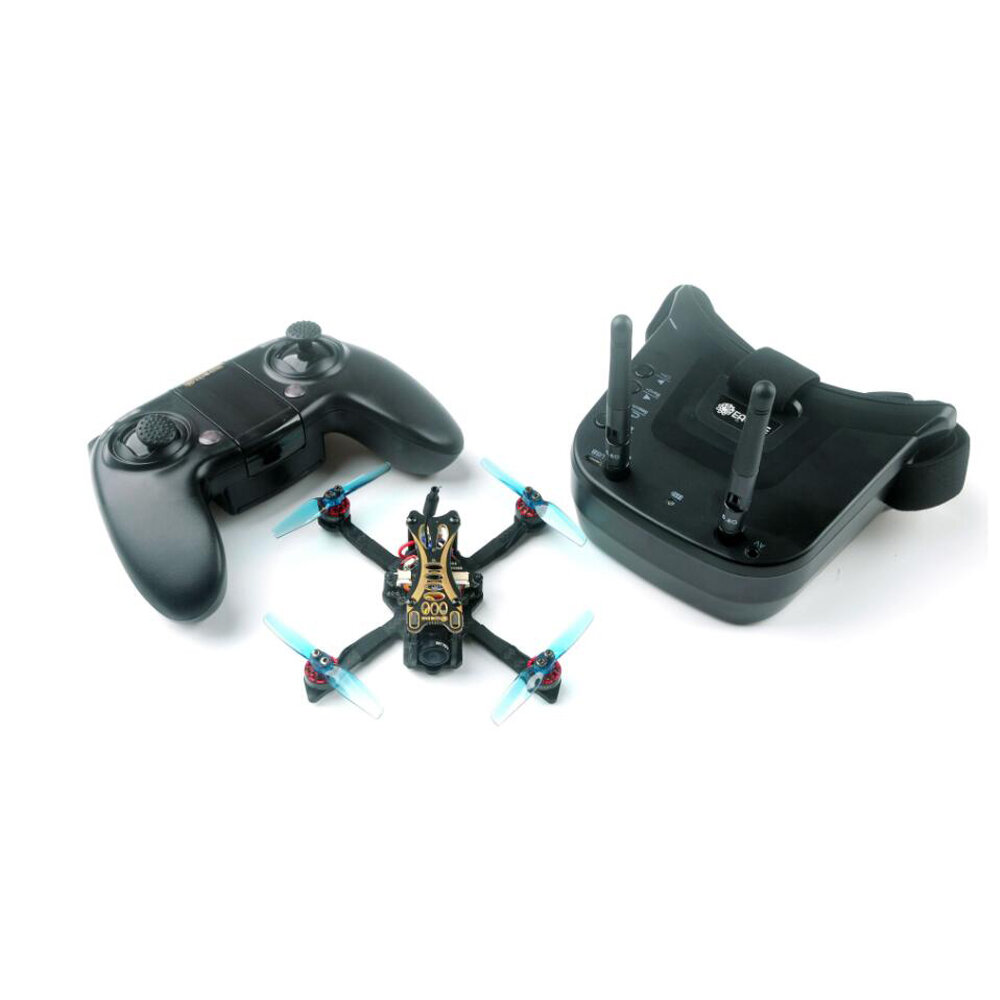 Dron Eachine Novice-II 1-2S 10x Bateria + gogle fpv za $134.25 / ~561zł