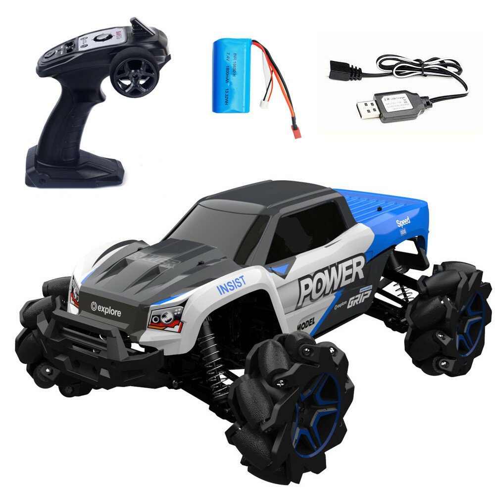 RBRC RB1277A 1/12 2.4G 4WD 35km/h RC Car Electric Drift Vehicle Full Proportional