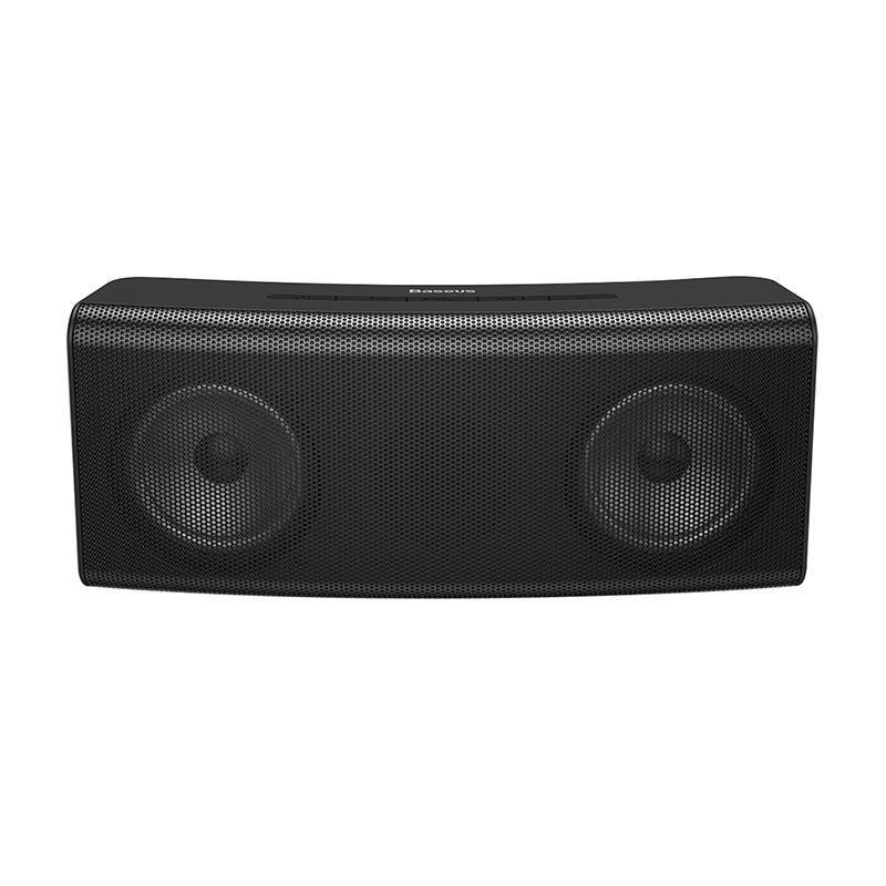 Baseus Encok E08 Wireless bluetooth Speaker HiFi Dual Drivers Bass Stereo LED Light TF Card AUX Soundbar with Mic