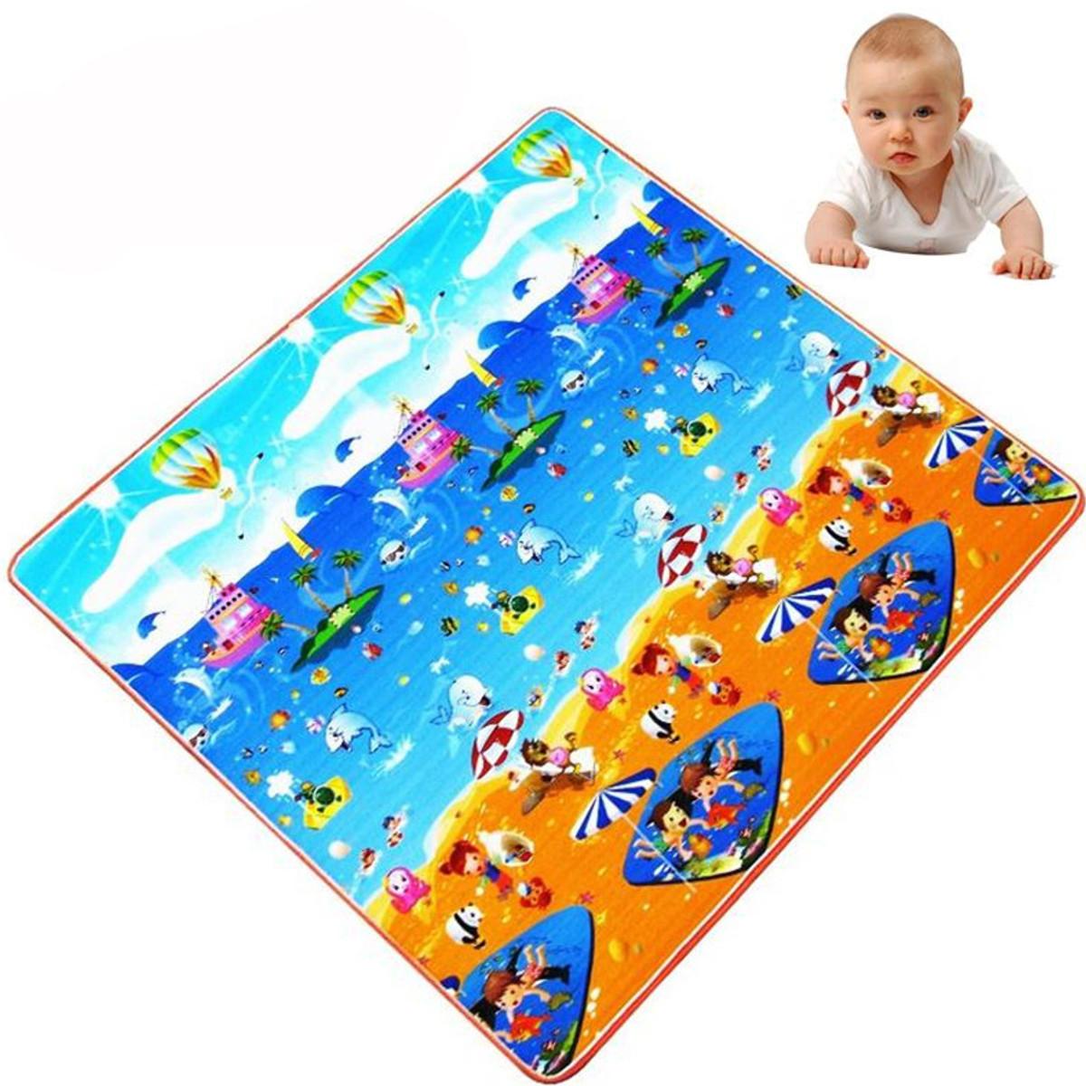 Soft Toy Baby Kids Play Mat Child Activity Foam Floor Gym Crawl Creeping Blanket
