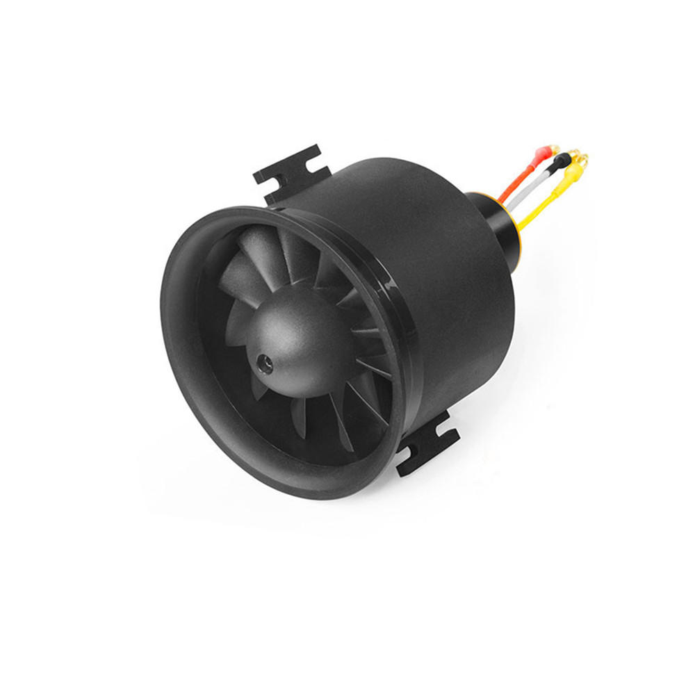 Freewing 70mm EDF Ducted Fan 12 blades 6S E7218 with Motor for 70 EDF RC Airplane фото