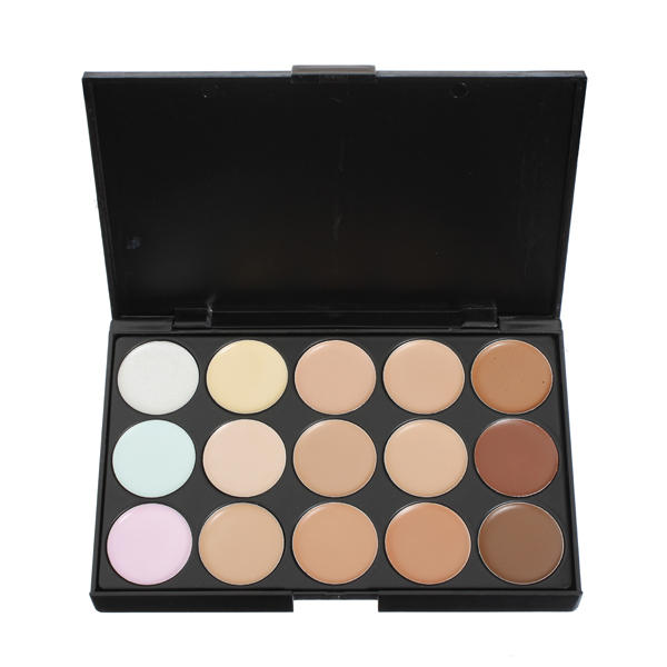 15 Colors Makeup Concealer Foundation Palette Set