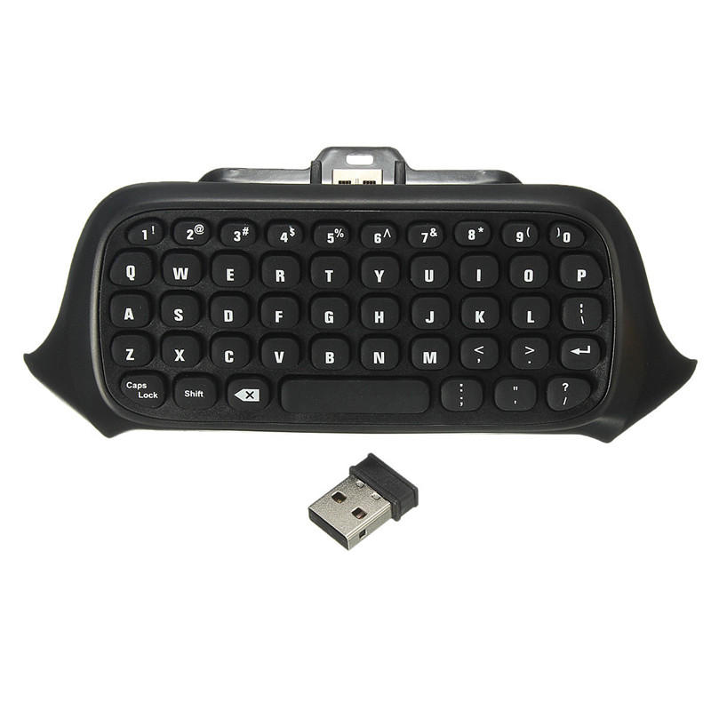 2 4G Mini Wireless Chatpad Message Keyboard for Xbox One Controller