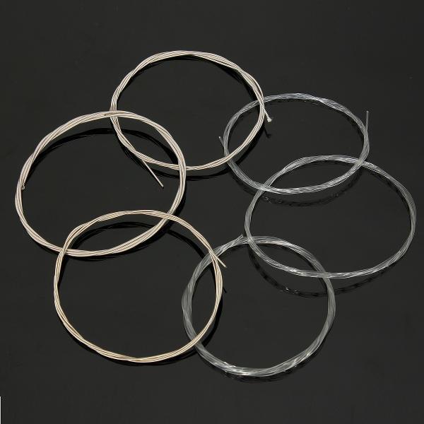 Nuova serie durevole di corde di nylon 6 acciaio chitarra classica acustica