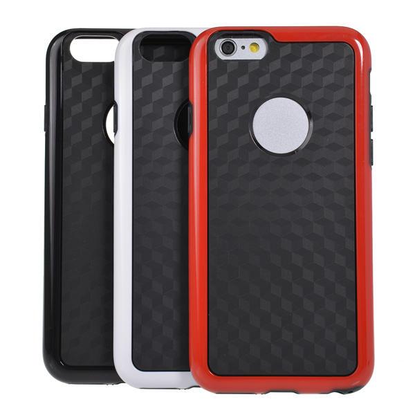 Double Color Với Logo Hole Hornet Case cho iPhone 6 Giao hàng ngẫu nhiên