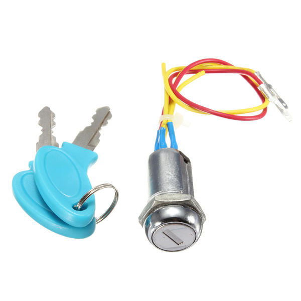 Ignition Switch Keys Lock for Motorcycle Electric Scooters Bike, Banggood  - buy with discount