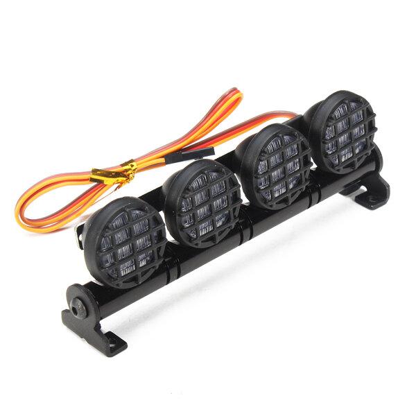AUSTAR Marco de Aleación de Aluminio de Luz LED para CC01/D90/SCX10/4WD Piezas de Coche RC