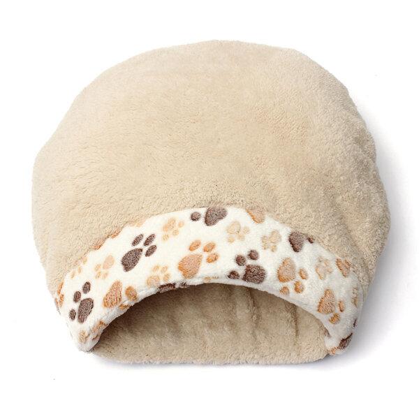 Lovely Warm Cat House Soft Kitten Sleeping Bag Cute Cat Bed Cave