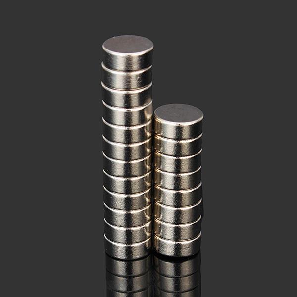 20 chiếc N52 Nam châm tròn siêu mạnh 10 mm x 4mm Nam châm Neodymium đất hiếm