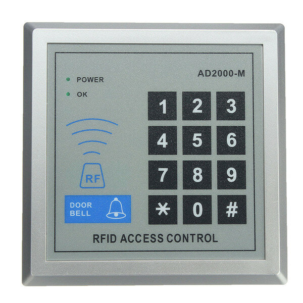 Security RFID Proximity Entry Door Lock Access Control System 10 Keys