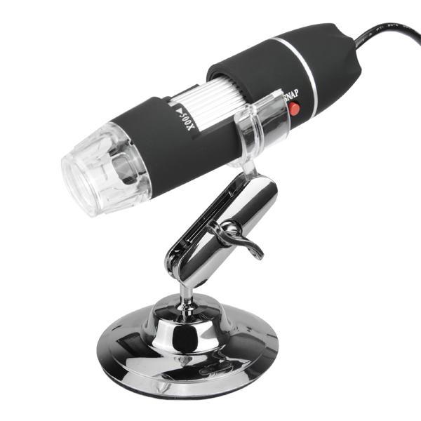DANIU USB 8 LED 50X-500X 2MP Digital Microscope Borescope Magnifier Video Camera