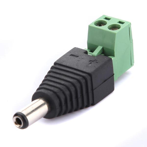 2.1mm DC Plug Power Adapter pour la caméra de sécurité CCTV