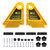 Drillpro उन्नत बहुउद्देश्यीय डबल पंख बोर्ड राउटर टेबल के लिए सॉर्स मेटर गेज स्लॉट
